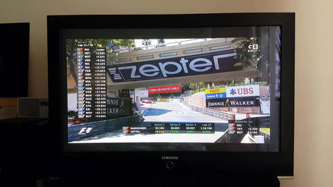 Watching Formula One Live on TV