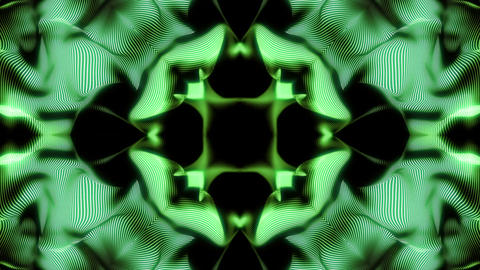 Abstract Stripes Kaleidoscope Loop Animation