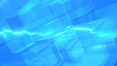 Cube clear abstract Animation