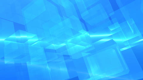 Cube clear abstract Stock Video Footage