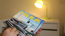 Editorial new IKEA catalogue Footage