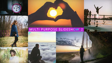 Multi Purpose Slideshow 2 After Effects Project