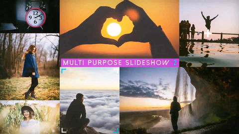 Multi Purpose Slideshow 2 After Effectsテンプレート