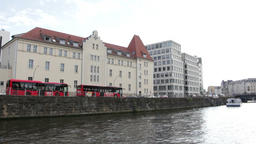 Berlin boat cruise Footage
