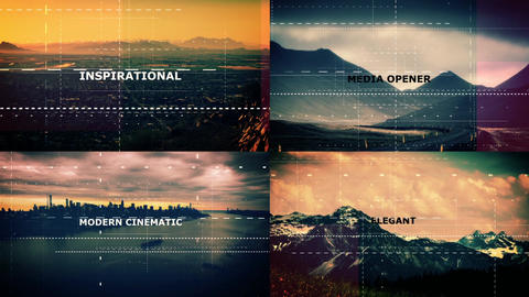 Digital v2 Slideshow After Effects Template