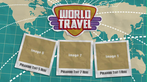World Travel After Effects Template