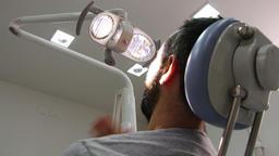 Teeth pain at the dentist Footage