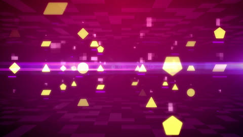 Geometric figures background Animation