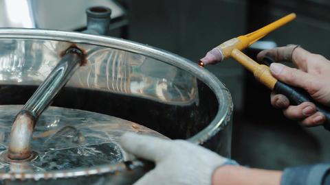 Spot welding Footage