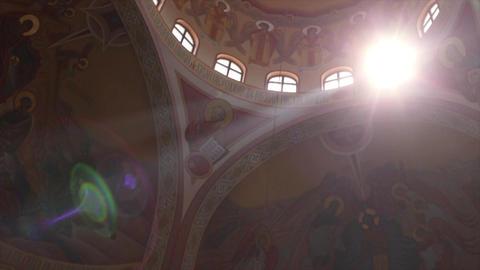 Sunlit Church Dome Live Action