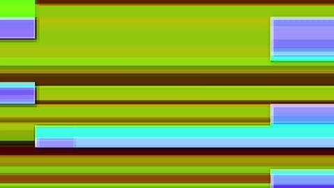 Glitch TV Screen. Colourful Stripes Footage