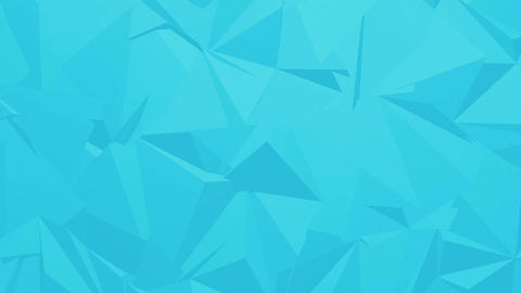 Blue Corporate Polygonal Background Animation