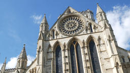 View of York Minster Footage