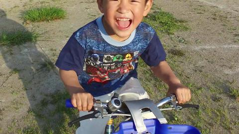 A smiling boy Filmmaterial