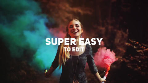 Fun and Dynamic Slideshow After Effects Template