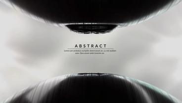 Abstract Object Animation Contrast Logo And Text Titles Opener After Effects Template
