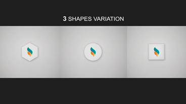 3D Logo Reveal 3 in 1 Plantilla de After Effects