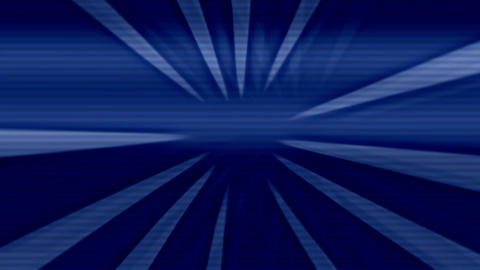 Kaleidoscope Blue Motion Sunburst Rays Background Animation