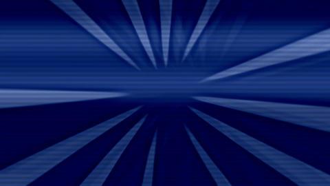 Kaleidoscope Blue Motion Sunburst Rays Background Animation
