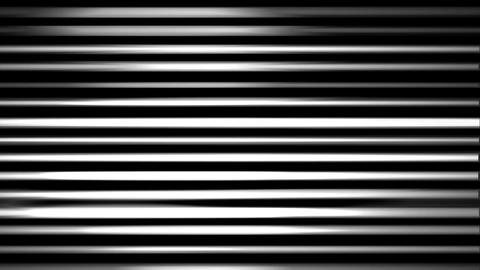 Shining Flickering Black And White Lights Lines Motion Background Animación