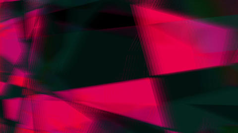Changing Geometrical Graphics Shapes Colored Figures Flat Motion Animation Animation