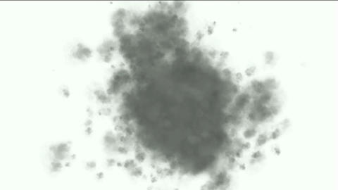 explosion smoke Stock Video Footage