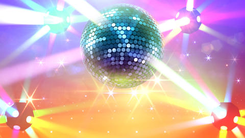 Mirror Ball 2b F Bb 6 HD Stock Video Footage