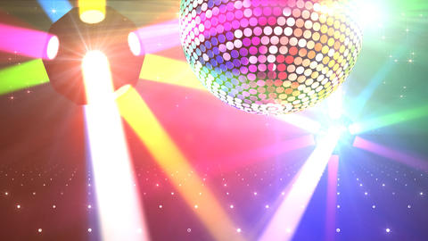 Mirror Ball 2b G Cb 1 HD Stock Video Footage