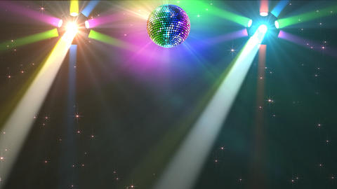 Mirror Ball 2b H Cc 3 HD Stock Video Footage