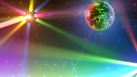 Mirror Ball 2b I Cc 5 HD Stock Video Footage