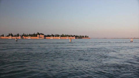 VENICE Island 1 Stock Video Footage