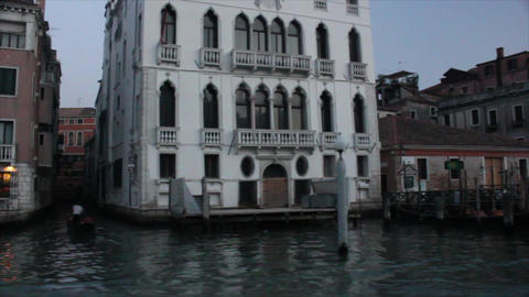 VENICE Canal Grande 11 Stock Video Footage