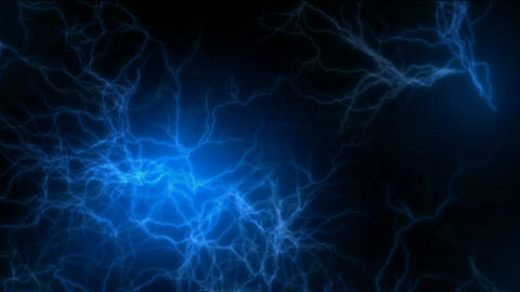 blue lightning,magnetic field,Negative oxygen ions Animation