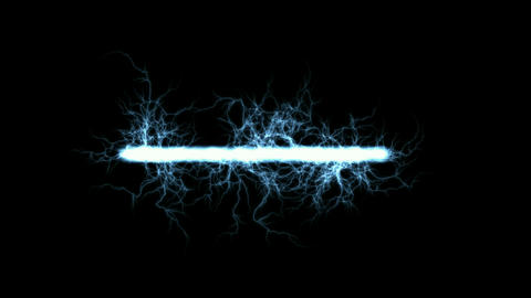 lightning magnetic field Stock Video Footage