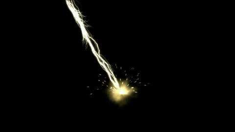 lightning magnetic field & rays ball,modern rays... Stock Video Footage