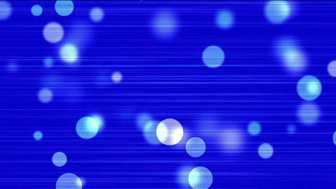 flowing light dots & circle particles on lines... Stock Video Footage
