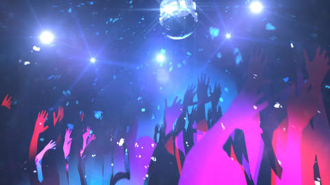 discotheque Stock Video Footage