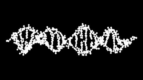 Turning DNA Stock Video Footage