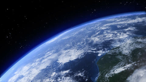 rotating earth background Animation