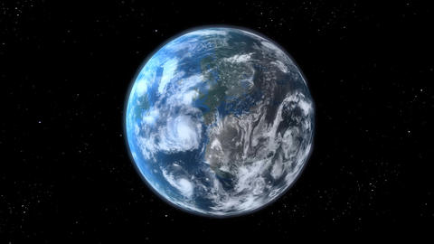 Earth zoom Stock Video Footage