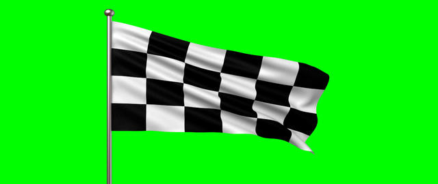 race flag Stock Video Footage