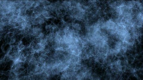 blue shine smoke & energy fibre optic lightning Stock Video Footage