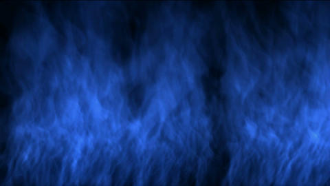 blue fire wall Stock Video Footage