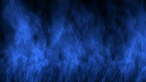 blue fire wall Animation