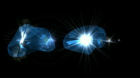 sapphire & diamonds Stock Video Footage