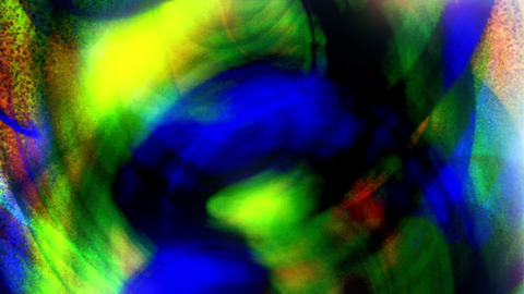 Analogue - Grungy Colorful Video Background Loop Stock Video Footage