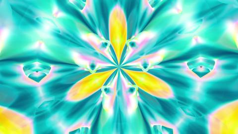Kaleidoscope 1 - Ornamental Kaleidoscopic Video... Stock Video Footage