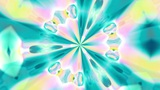 Kaleidoscope 1 - Ornamental Kaleidoscopic Video Background Loop stock footage