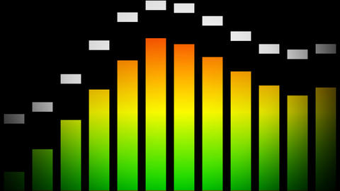 equalizer Stock Video Footage