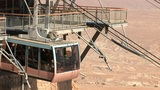 cableway on Mount Masada 5 Footage
